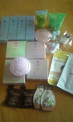 韓国からの小包