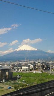 富士山、超きれい!